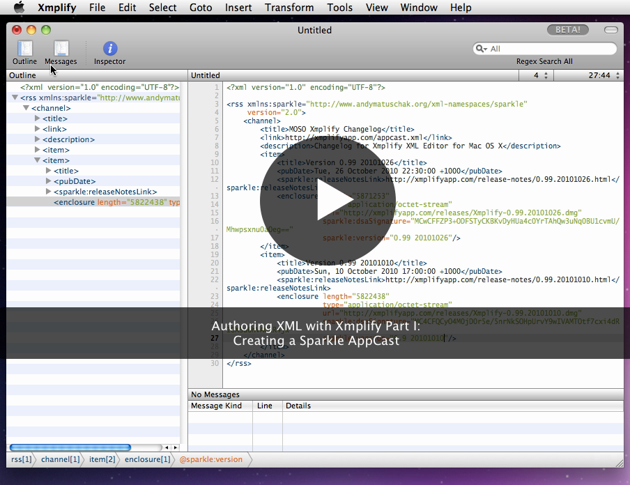 Xmplify xml editor for mac os x malvernweather Images