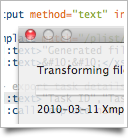 Xmplify makes applying XSL transformations easy.