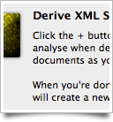 Deriving an XSD from multiple source XML documents.