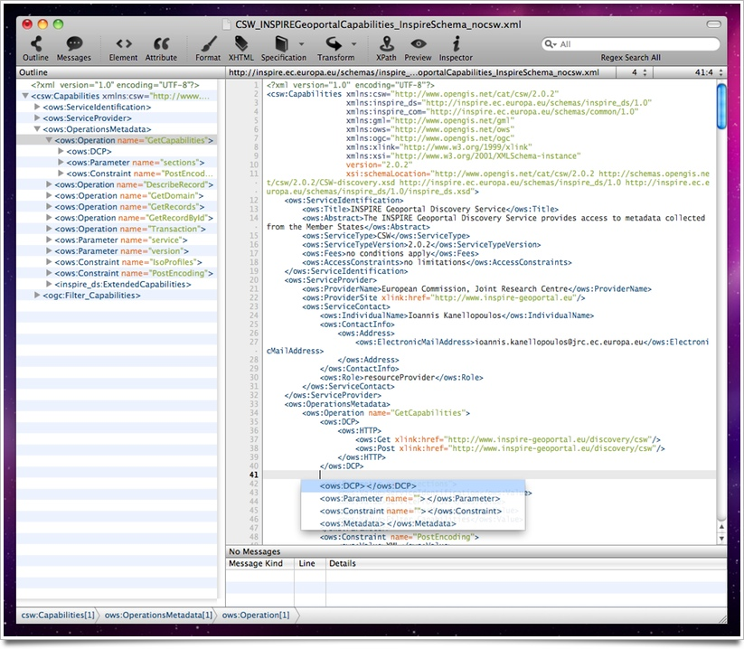 Xmplify xml editor for mac os x editing an xml document malvernweather Image collections